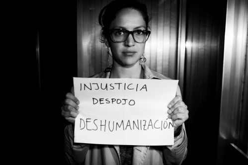 Injusticia. Despojo. Deshumanización