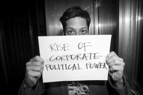 Rise of corporate political power